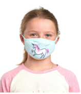 Hatley Non-Medical Reusable Kids Face Mask Unicorn