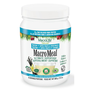 MacroLife Naturals MacroMeal Omni Protein Vanilla