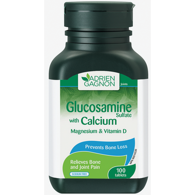 Adrien Gagnon Glucosamine with Calcium Magnesium and Vitamin D
