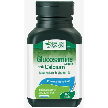 Adrien Gagnon Glucosamine with Calcium Magnesium and Vitamin D