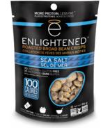 Enlightened Roasted Broad Bean Crisps Sea Salt
