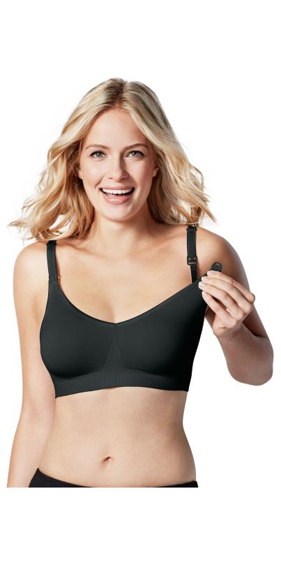 b3dc128478d1a8 Buy Bravado Designs Body Silk Seamless Nursing Bra Black at Well.ca ...