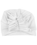 Baby Wisp Hat Ruffles White