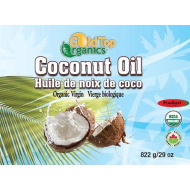 Gold Top Organics Organic Virgin Coconut Oil