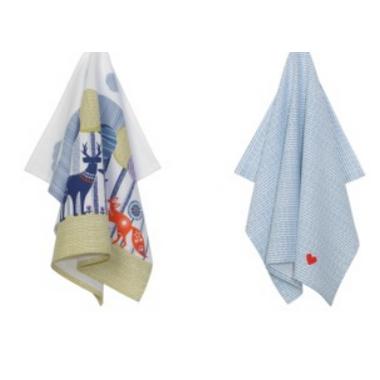 Folklore Tea Towel Set