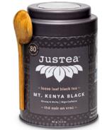 JusTea Loose Leaf Black Tea Mt. Kenya Black