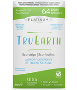 Tru Earth Platinum Eco- Strips Laundry Detergent Fragrance-Free