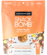 Snack Conscious Snack Bomb Coffee Ginger Energy Balls