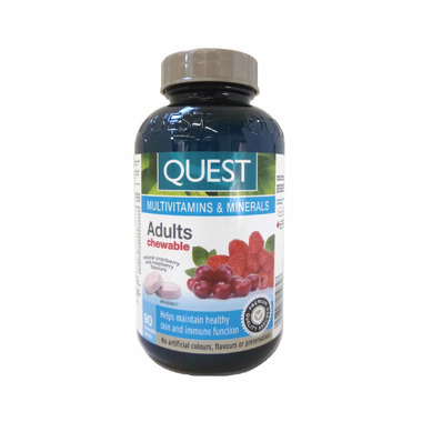 Quest Adults Chewable Multivitamins & Minerals