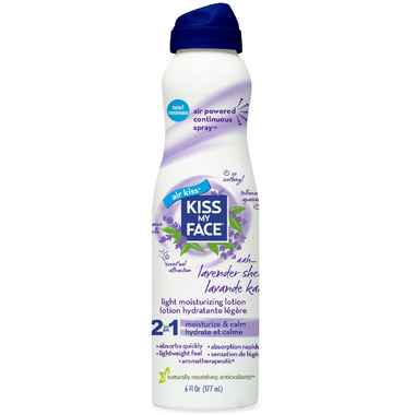 Kiss My Face Lavender Shea Continuous Spray Moisturizer