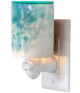 Happy Wax Outlet Plug In Warmer Watercolor Print