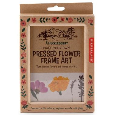 Kikkerland Huckleberry Make Your Own Pressed Flower Frame
