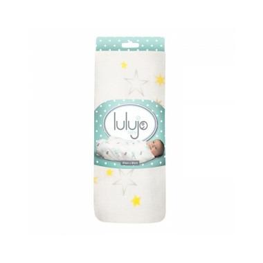 Lulujo Baby Bamboo Muslin Swaddle Blanket