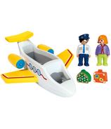 Playmobil 1.2.3. avion avec passager