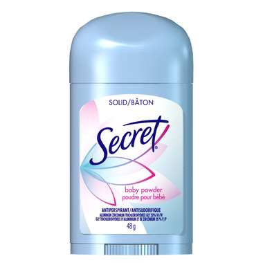 Secret Wide Solid Antiperspirant and Deodorant