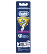 Oral-B CrossAction Electric Toothbrush Replacement Brush Heads 3 Count