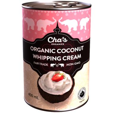 Cha\'s Organics Organic Coconut Whipping Cream