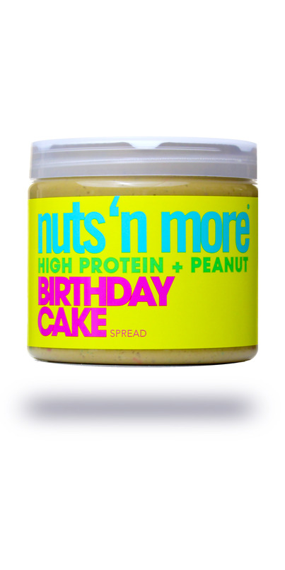Buy Nuts N More Birthday Cake Peanut Butter High Protein Spread From Canada At Wellca