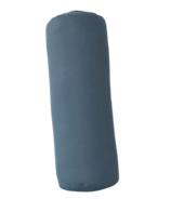 Traversin cylindrique Halfmoon Collection Coton Essentiel Encre