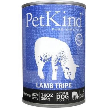 PetKind Lamb Tripe Formula Natural Dog Food