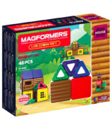 Magformers House Log Cabin Set