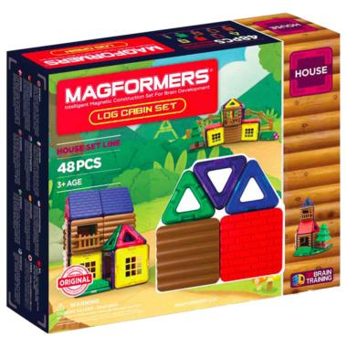 Magformers House Log Cabin Set