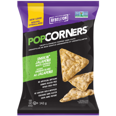 PopCorners Smokin\' Jalapeno White Cheddar Corn Chips