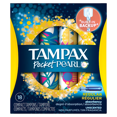 Tampax Pocket Pearl Tampons Regular