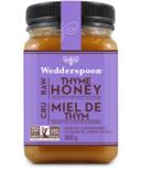 Wedderspoon Raw Thyme Honey