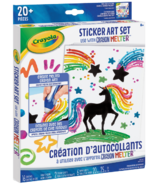 Crayola Crayon Melter Accessory Pack Sticker Art Set