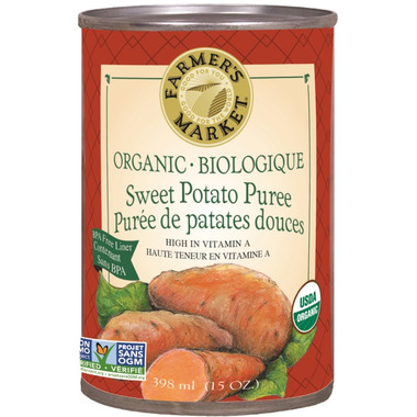 Farmer\'s Market Organic Sweet Potato Puree
