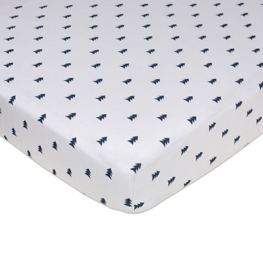 Lolli Living Fitted Sheet Peaks Tribal