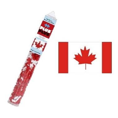 Plus Plus Mini Maker Tube Canadian Flag