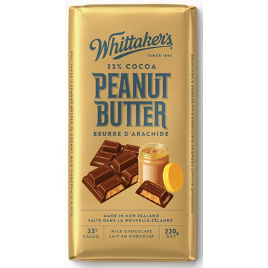Whittaker\'s Peanut Butter Chocolate