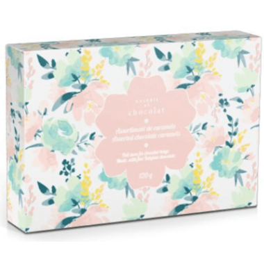 Galerie au Chocolat Spring Gift Box of Assorted Caramels