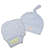 Juddlies Newborn Cap & Mitts Blue Bundle