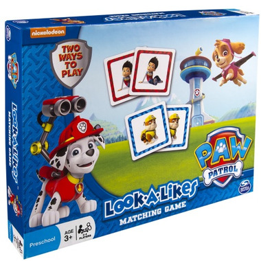 Paw Patrol Look-A-Likes Matching Board Game