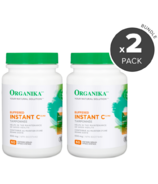Organika Buffered Instant C 60 Capsules Bundle