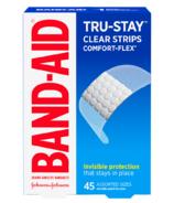 Band-Aid pansements transparents confort et flexible