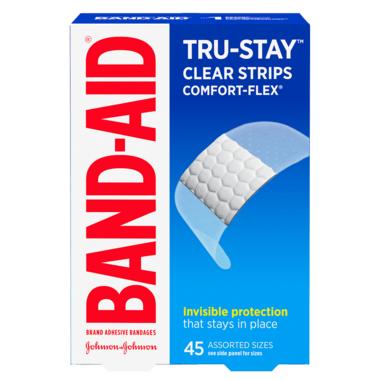 Band-Aid Clear Comfort-Flex Bandages