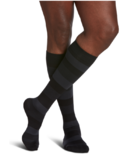 Sigvaris Microfiber Shades Compression Socks Mens Onyx