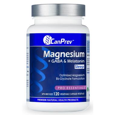 CanPrev Magnesium + GABA & Melatonin for Sleep