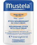 Mustela Nourishing Stick with Cold Cream Lips & Cheeks