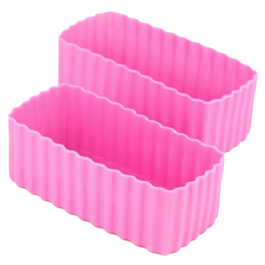 Little Lunch Box Co. Bento Cups Rectangle Pink
