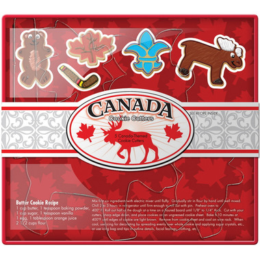 O\'Canada Cookie Cutter Set