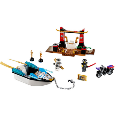 LEGO Juniors Zane\'s Ninja Boat Pursuit
