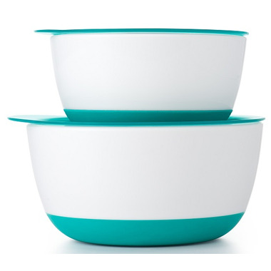OXO Tot Small & Large Bowl Set Teal