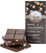 Venchi Chocolight Dark Chocolate Hazelnut Bar