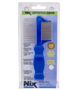 Nix Premium Metal Two-Sided Lice Comb