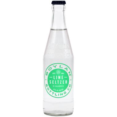 Boylan Bottling Lime Seltzer